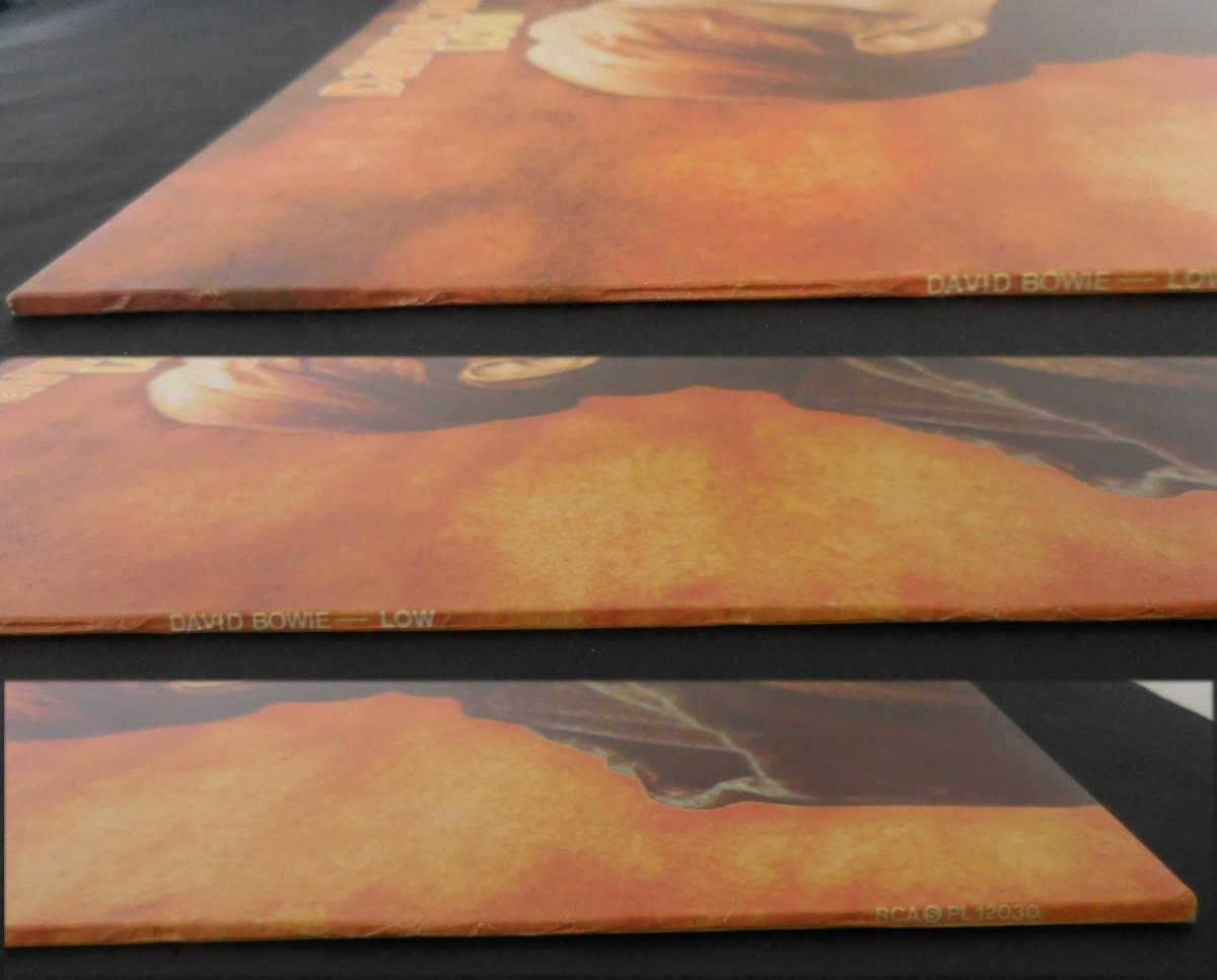 ボウイ DAVID BOWIE LOW 英国オリジナル・準美盤 レア・初回ステッカー曲目 A1B2!_画像8