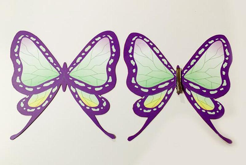 胡蝶 しのぶ 髪 飾り