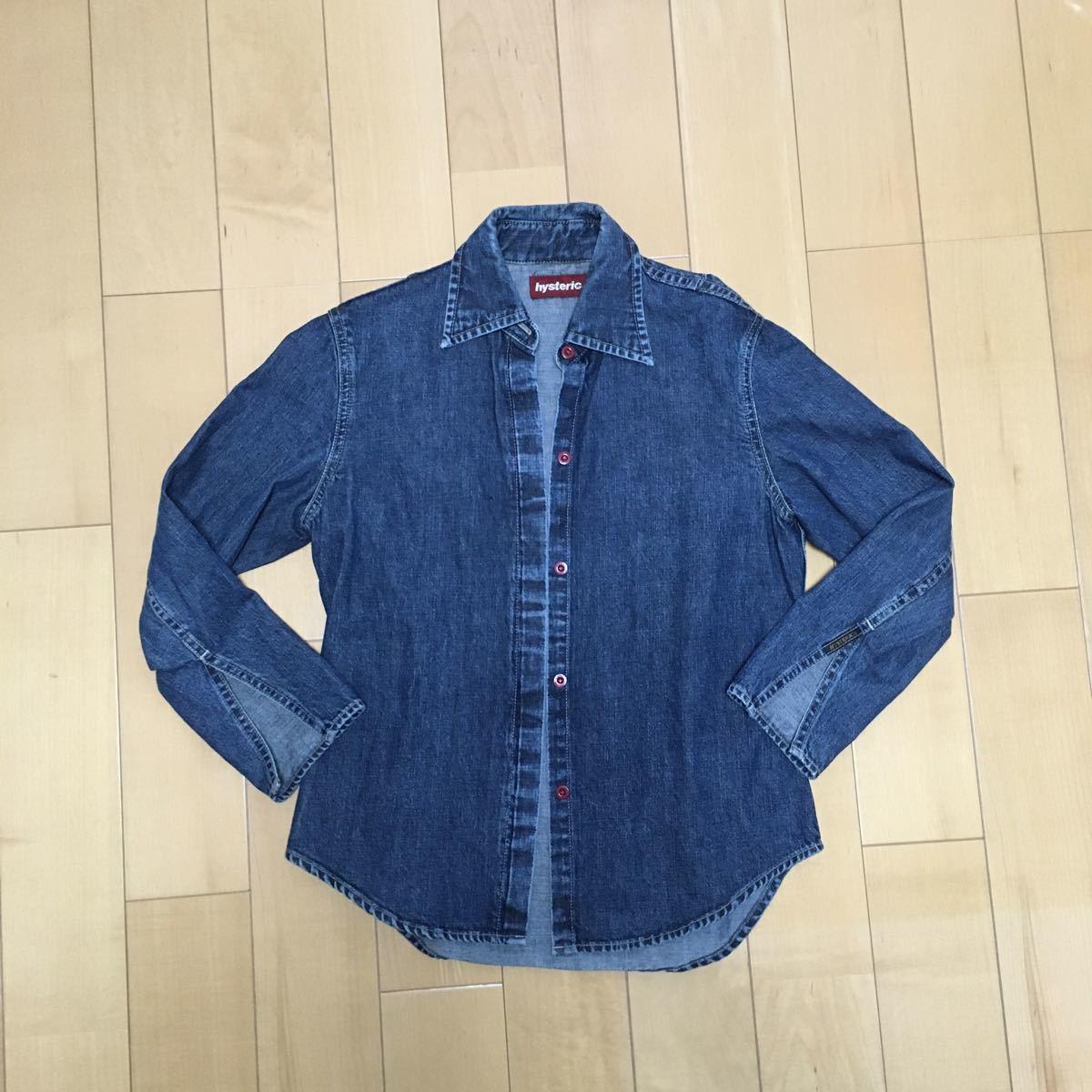 ヒステリックグラマー No.2AH-9370 デニムシャツ freeサイズ
