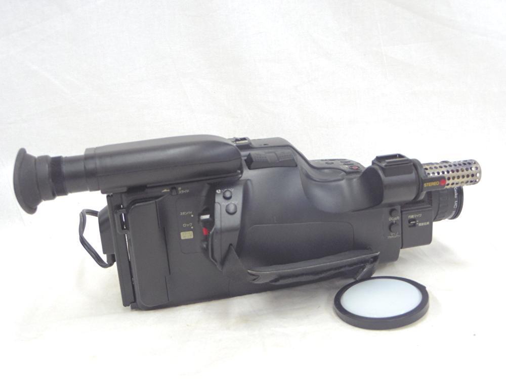 【KYOCERA】京セラ ビデオカメラレコーダーHi8 KD-H150 バッグ付 【ジャンク品】 _画像4