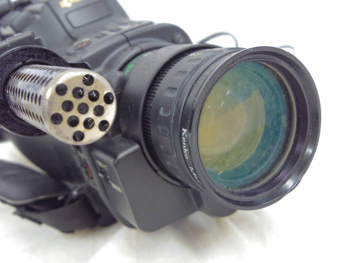 【KYOCERA】京セラ ビデオカメラレコーダーHi8 KD-H150 バッグ付 【ジャンク品】 _画像6
