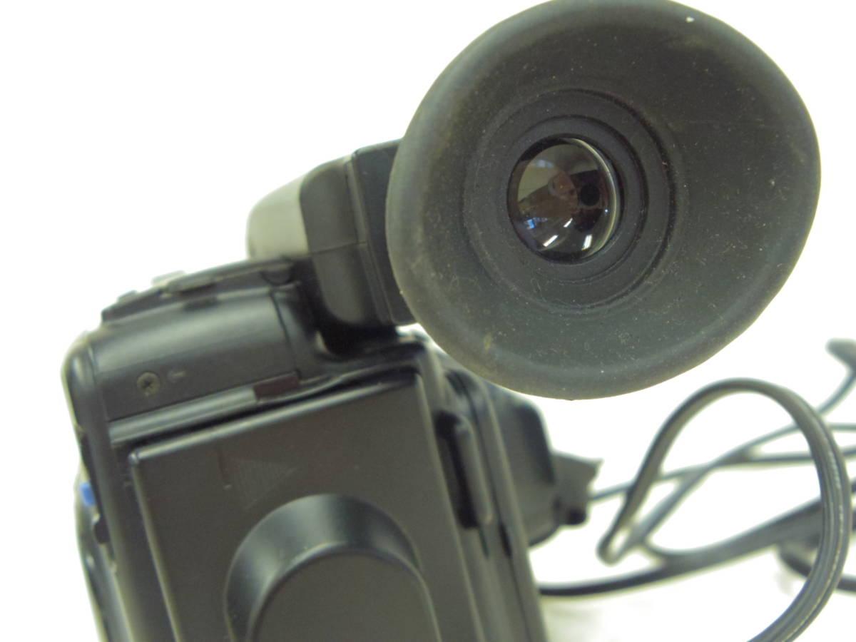 【KYOCERA】京セラ ビデオカメラレコーダーHi8 KD-H150 バッグ付 【ジャンク品】 _画像8