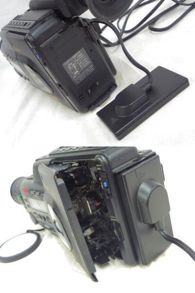 【KYOCERA】京セラ ビデオカメラレコーダーHi8 KD-H150 バッグ付 【ジャンク品】 _画像9