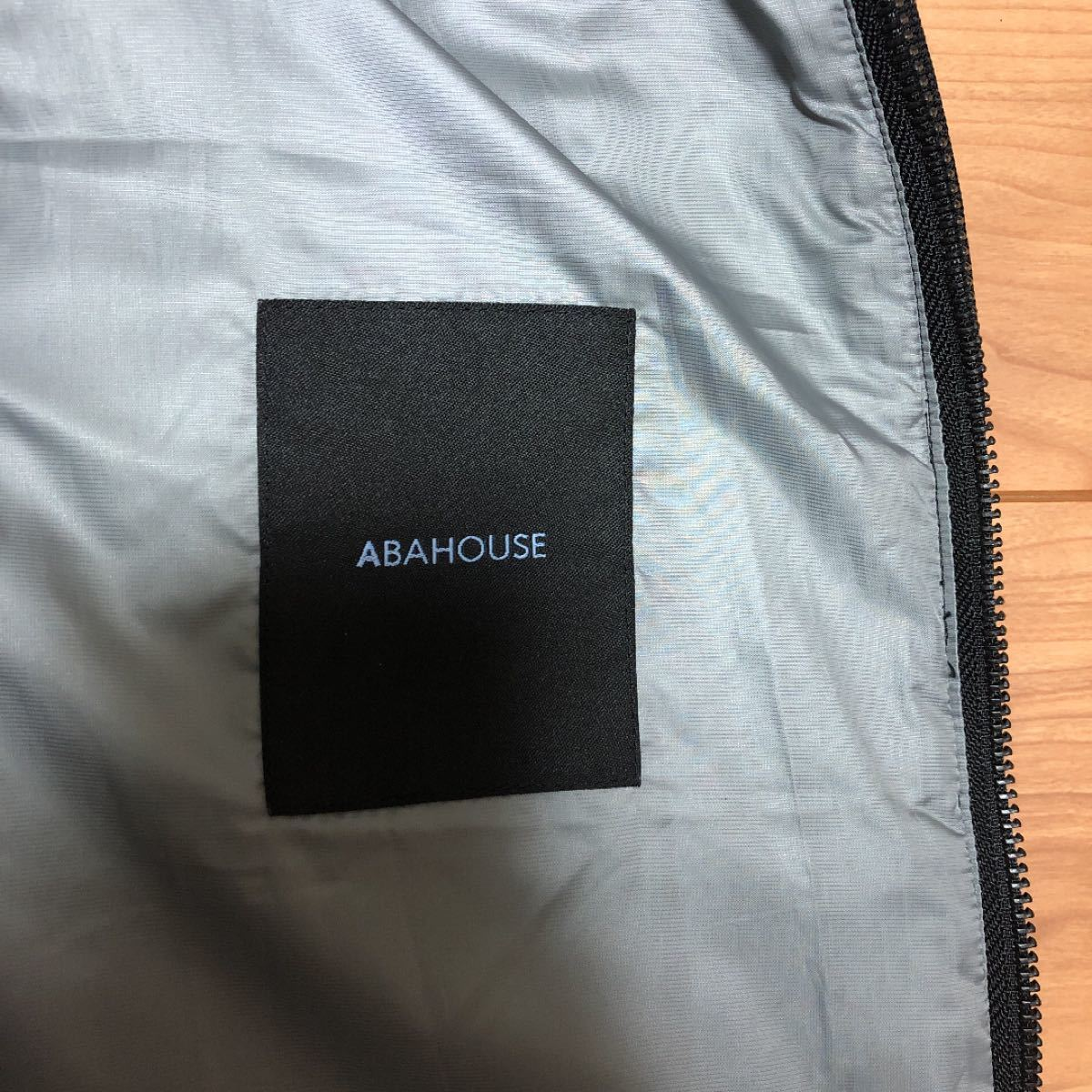 ABAHOUSE メンズ ダウンベスト Mサイズ ブラック