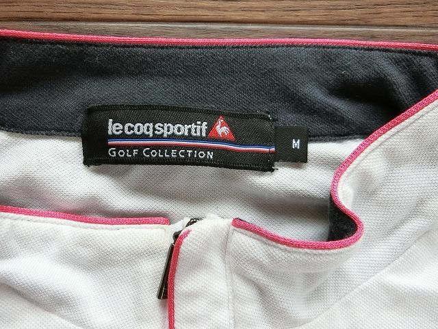 le coq sportif ルコック スポルティフ ゴルフウェア M USED_画像3
