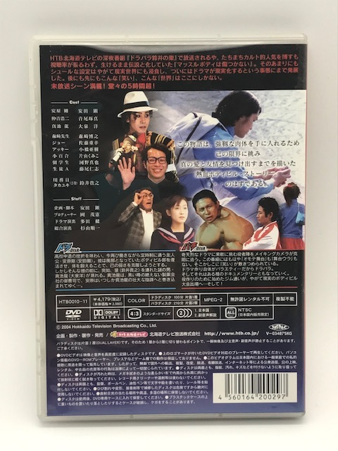 『ドラバラ鈴井の巣』DVD第2弾 「マッスルボディは傷つかない」大泉洋 鈴井貴之 安田顕 HTB  北海道TV DVD_画像2