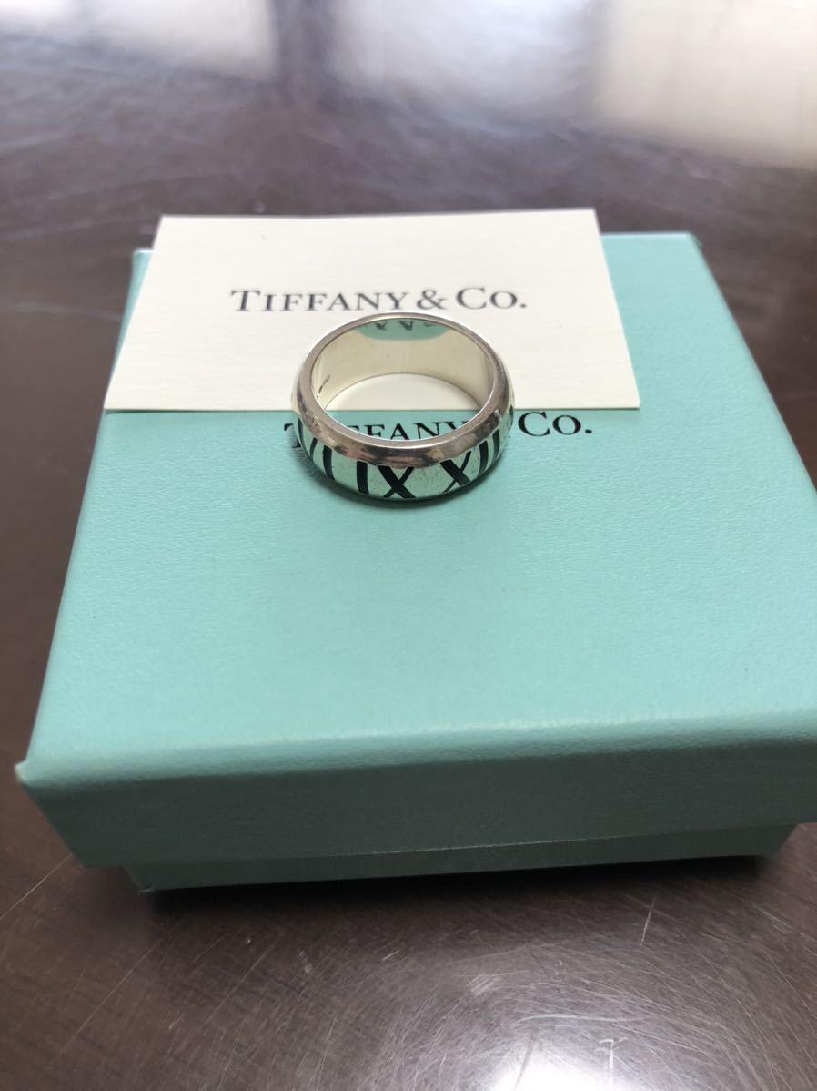 美品 Tiffany&Co. ティファニー リング 指輪 シルバー 18号