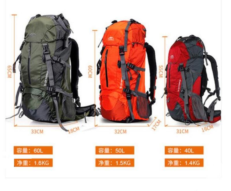 リュックサック 登山リュック アウトドア スポーツバックパック 防水 大容量 超軽量 多機能 アウトドア 旅行 ハイキング トレッキングtpk26_画像6