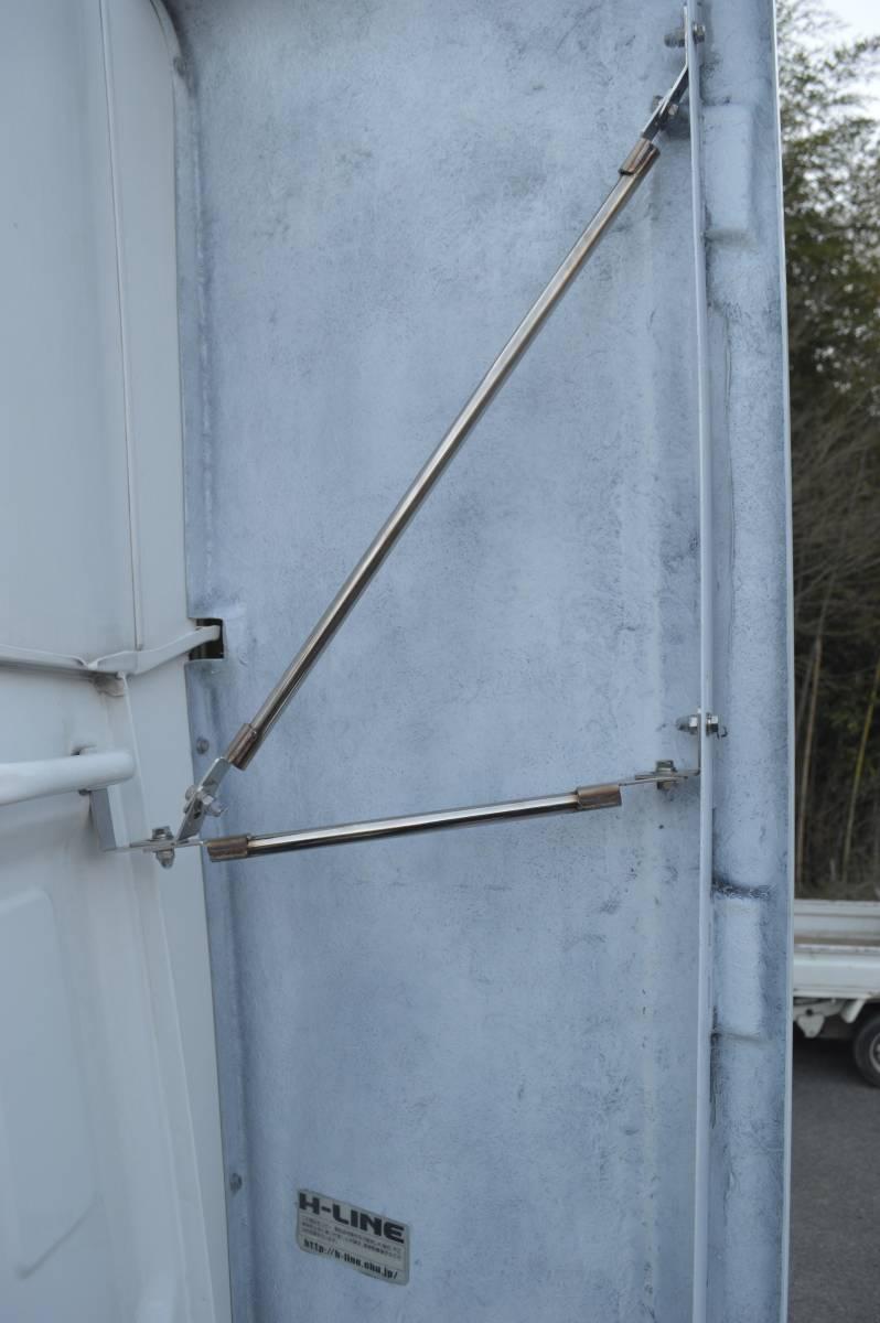 トラックパーツ 架装 UD クオン 新型、旧型 サイド ディフレクター(2P) FRP  ハイルーフ用 取り付金具付き_画像7