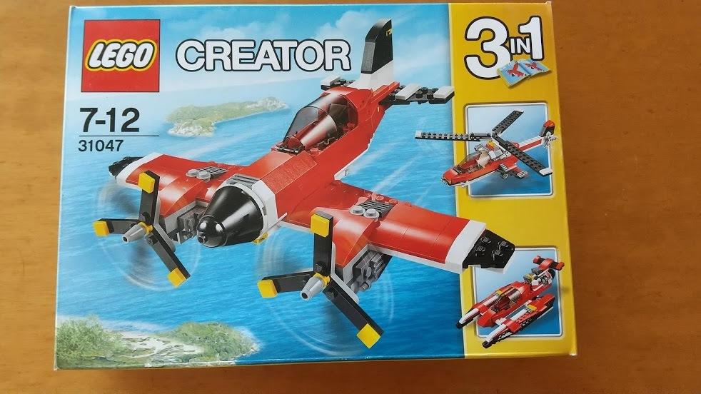レゴ クリエーター31047 プロペラ飛行機★未開封品★送料定形外510円_画像1
