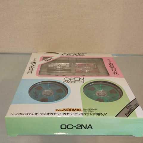 新品未使用 未開封品!!美品 TEAC/ティアック オープンリールタイプ カセットテープ オーカセ OC-2NA メタリックカラー_画像8