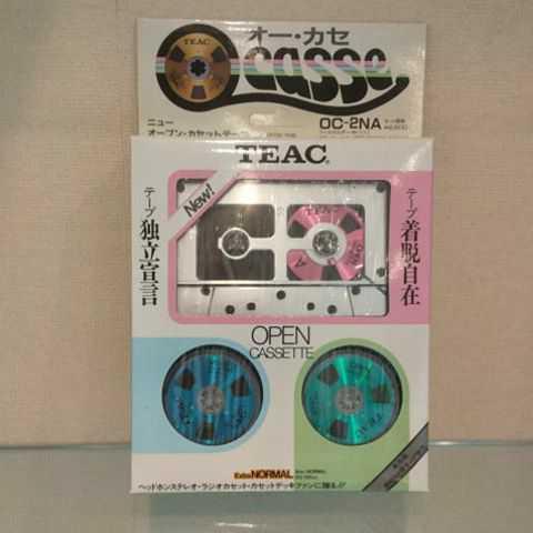 新品未使用 未開封品!!美品 TEAC/ティアック オープンリールタイプ カセットテープ オーカセ OC-2NA メタリックカラー_画像1