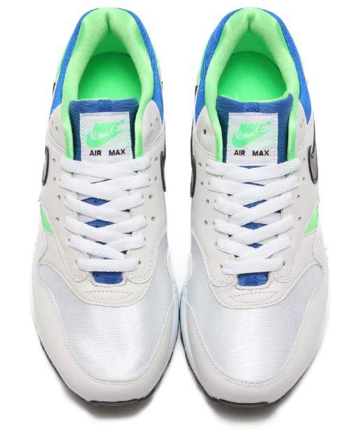 28cm● NIKE AIR MAX 1 DNA CH.1 白 黄緑 青 ナイキ エア マックス AR3863-100 スニーカー AIR HUARACHE エア ハラチ_画像5