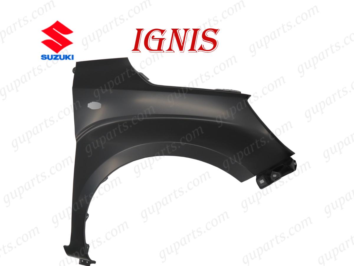 ◆ スズキ イグニス ハイブリット MG FF21S H28.2~ フロント 右 フェンダー 57611-62R00 ウインカー 穴あり_画像1