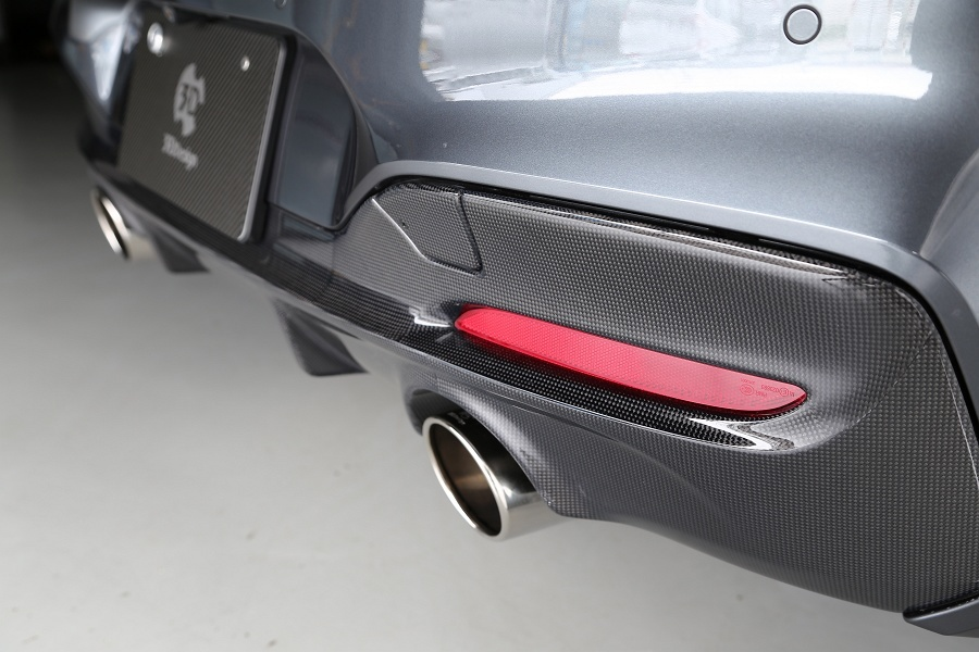 3D Design 3Dデザイン BMW F20 M-Sport LCI リアディフューザー(2テール)_画像4
