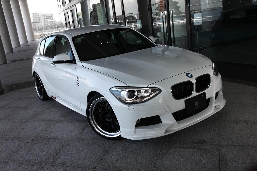 3D Design 3Dデザイン BMW F20 M-Sport フロントリップスポイラー ウレタン製_画像1