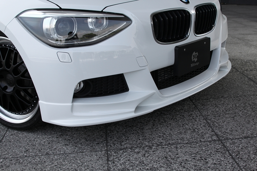 3D Design 3Dデザイン BMW F20 M-Sport フロントリップスポイラー ウレタン製_画像2