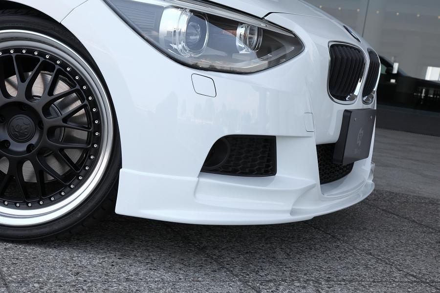 3D Design 3Dデザイン BMW F20 M-Sport フロントリップスポイラー ウレタン製_画像3