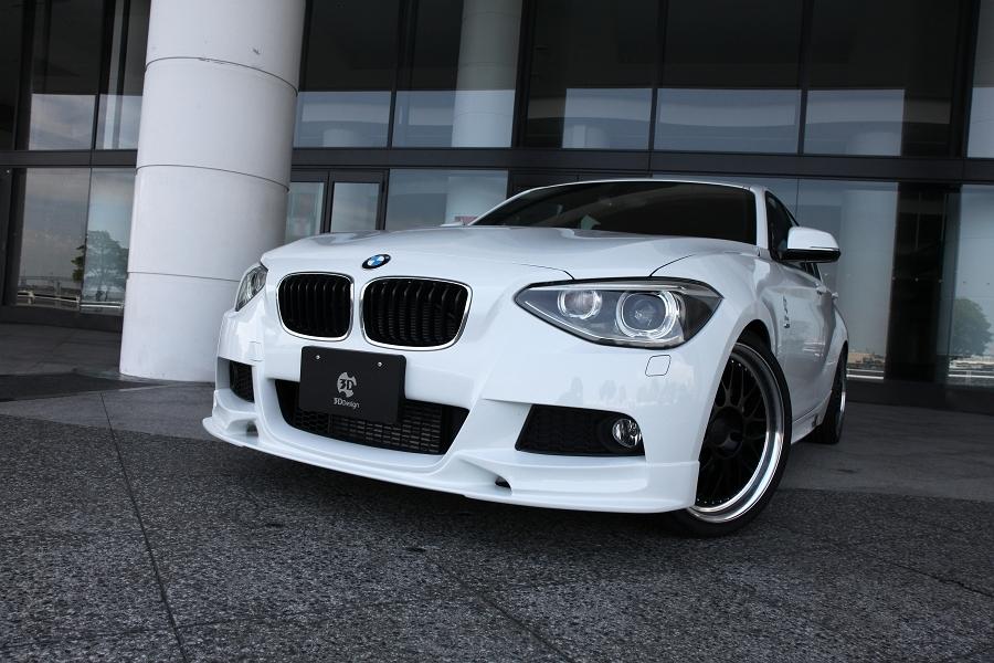 3D Design 3Dデザイン BMW F20 M-Sport フロントリップスポイラー ウレタン製_画像4