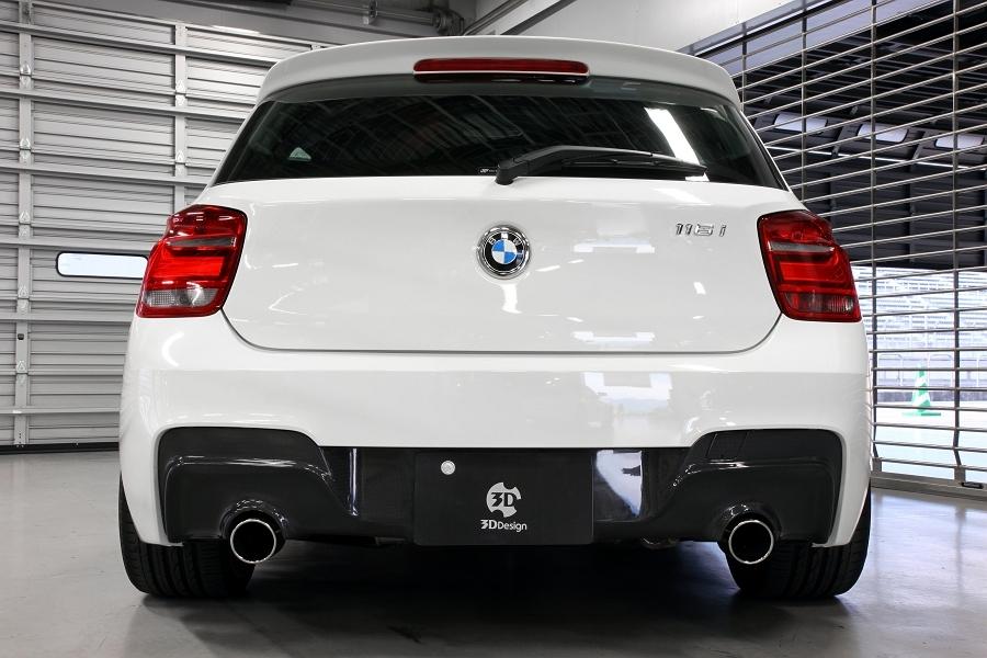 3D Design 3Dデザイン BMW F20 M-Sport リアディフューザー(2テール) カーボン使用_画像2