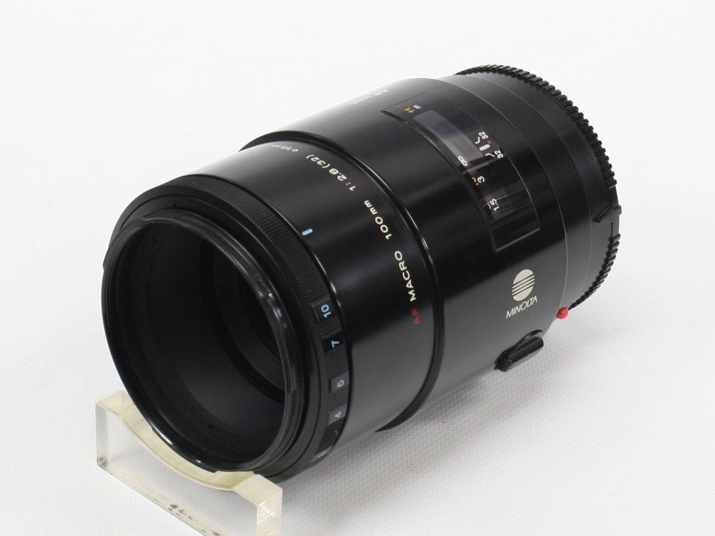 良品 ミノルタ AF100/2.8マクロ(1型) _画像1