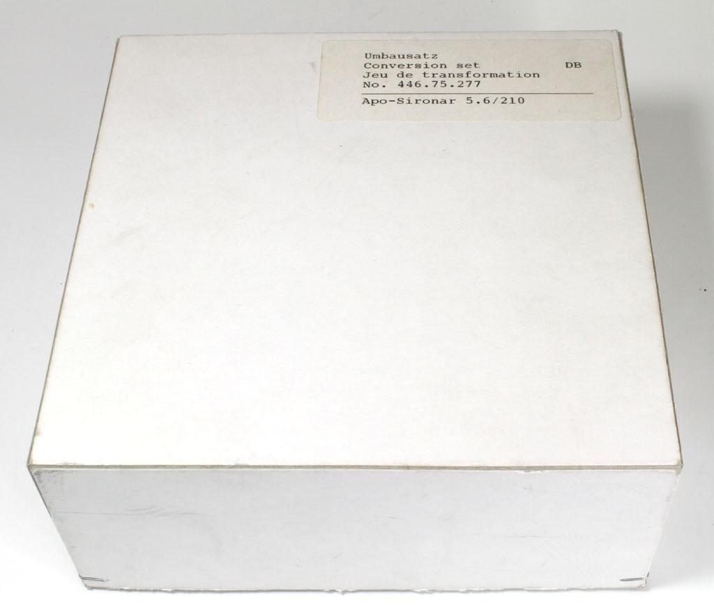 新同品 ジナー DBレンズボード絞り内蔵(アポシロナー210/5.6用、NO,446,75,277) _画像5
