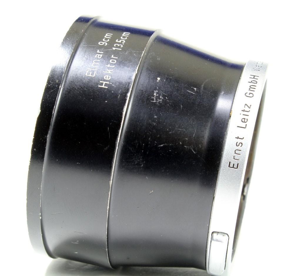 良品マイナス ライカ エルマー9cm/へクロール13.5cm用フード IUFOO 12575 初期型_画像5