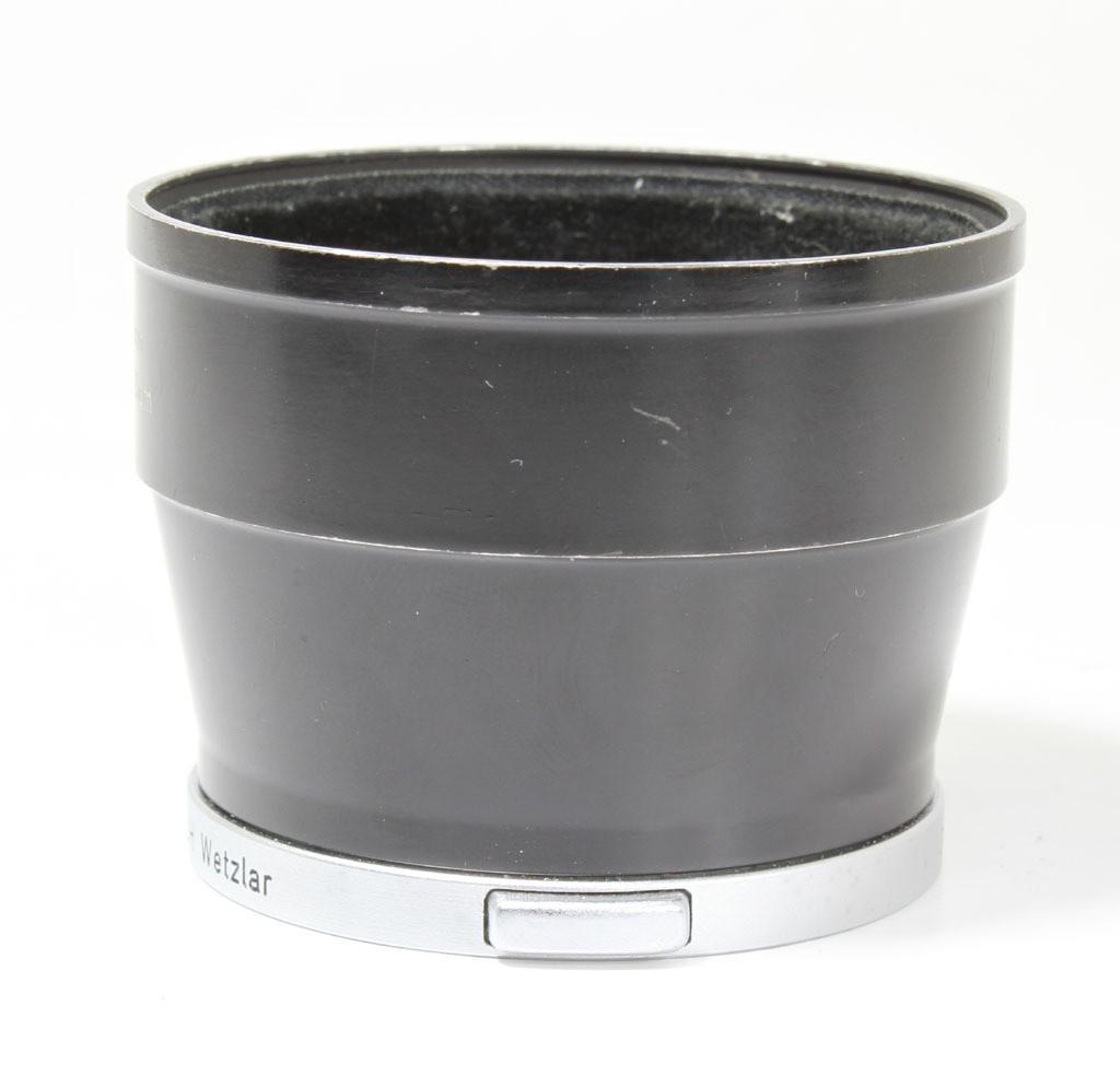 良品マイナス ライカ エルマー9cm/へクロール13.5cm用フード IUFOO 12575 初期型_画像4