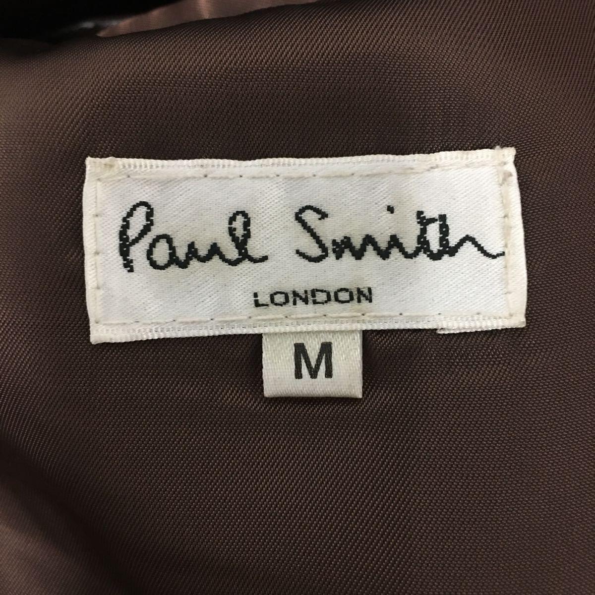 【Paul smith】ポールスミス★オーストリッチ型押し レザー テーラードジャケット size:M ラムレザー 羊革 メンズ 04_画像6