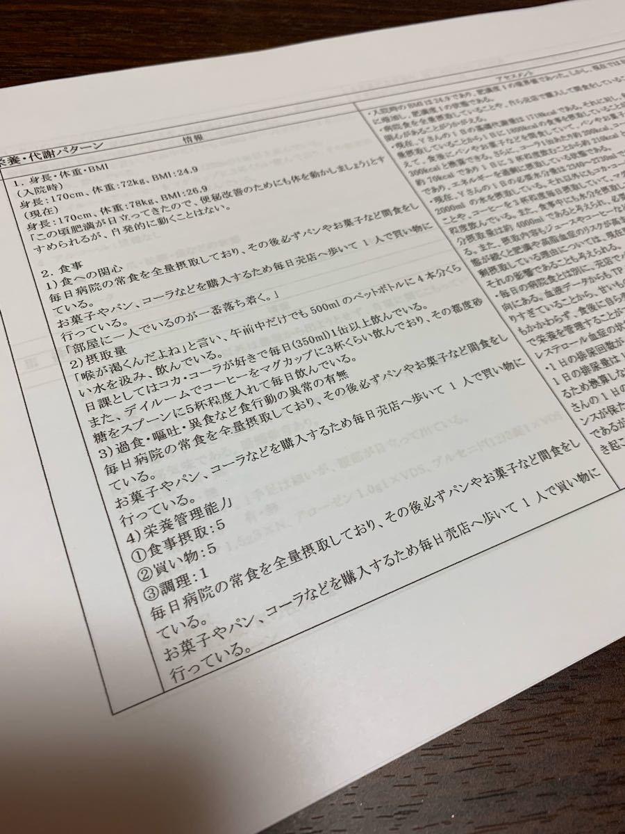 看護 付箋 ノート ★ ゴードン 看護過程 セット (^ ^)