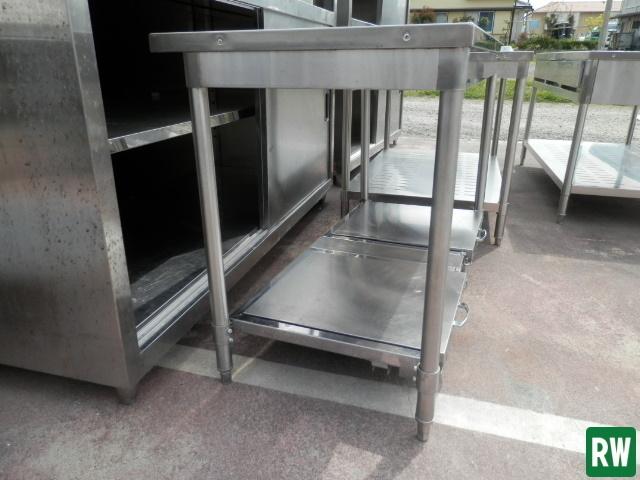 作業台 炊飯台 タニコー W1200×D600×H800 業務用 ステンレス 厨房機器 [2-B897]_画像7