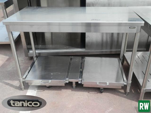 作業台 炊飯台 タニコー W1200×D600×H800 業務用 ステンレス 厨房機器 [2-B897]_画像2