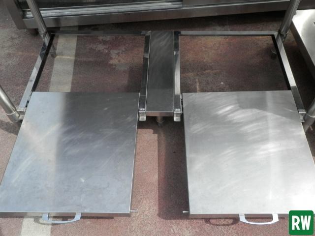 作業台 炊飯台 タニコー W1200×D600×H800 業務用 ステンレス 厨房機器 [2-B897]_画像4