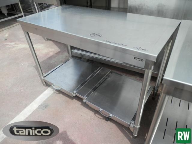 作業台 炊飯台 タニコー W1200×D600×H800 業務用 ステンレス 厨房機器 [2-B897]_画像1