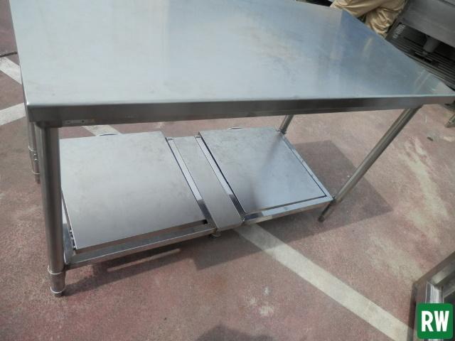 作業台 炊飯台 タニコー W1200×D600×H800 業務用 ステンレス 厨房機器 [2-B897]_画像8