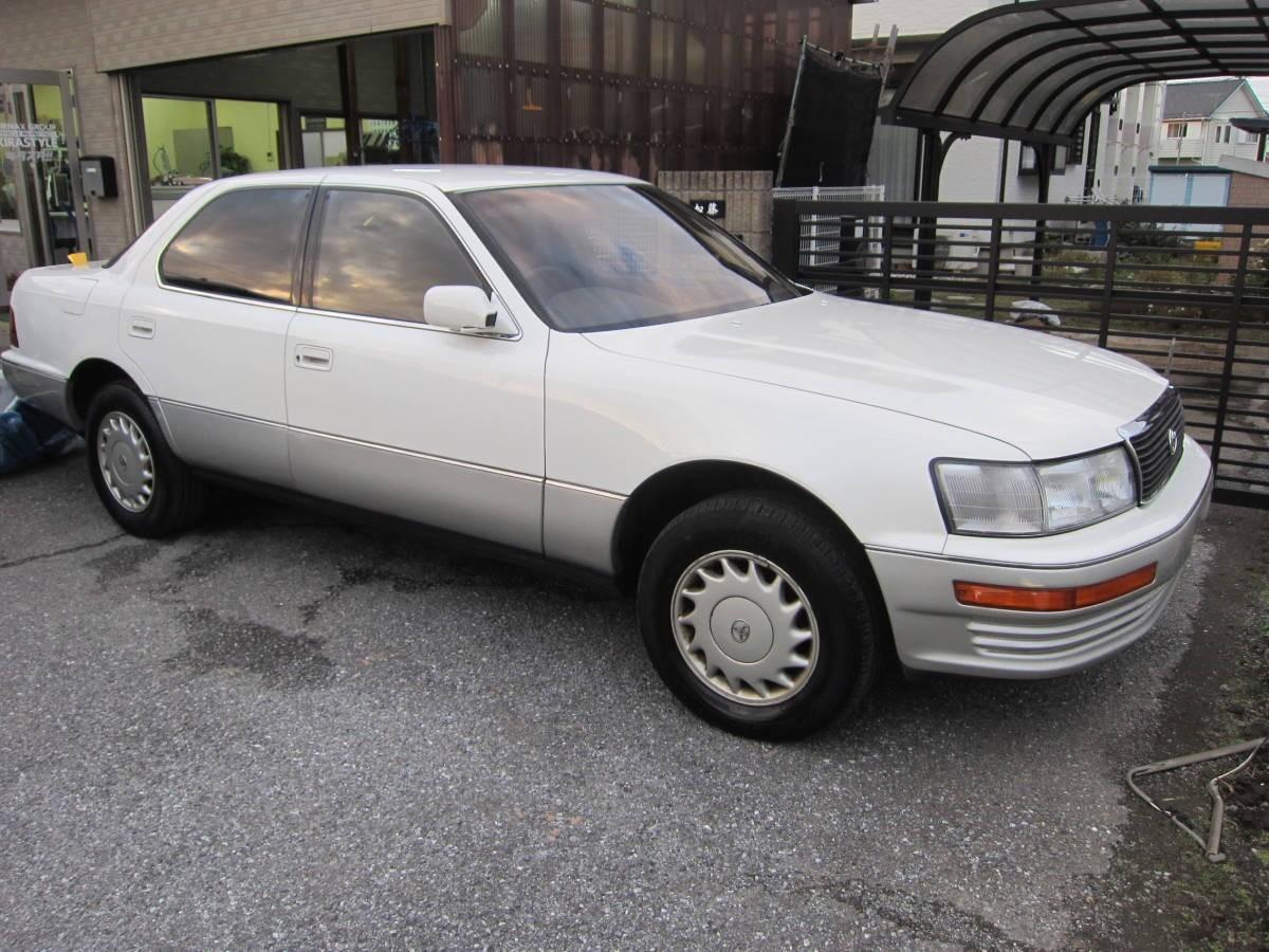 消費税不要♪ 希少! 中古 セルシオ 初代 Cタイプ 前期型 UCF11 自動車検査証 車検証 入れ ケース ニュー トヨペット_この車から取り出しました。