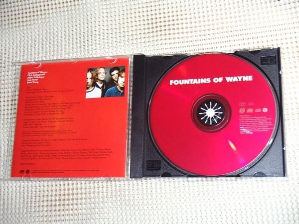 廃盤 EU盤 Fountains Of Wayne ファウンテインズ オブ ウェイン / 美メロ power pop 名バンド 珠玉の1st / Adam Schlesinger ( Ivy )在籍