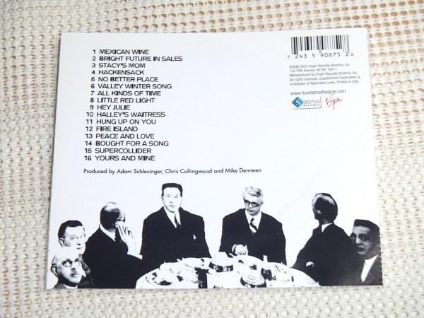 US廃盤 Fountains Of Wayne ファウンテインズ オブ ウェイン Welcome Interstate Managers / power pop名バンド Adam Schlesinger ( Ivy )