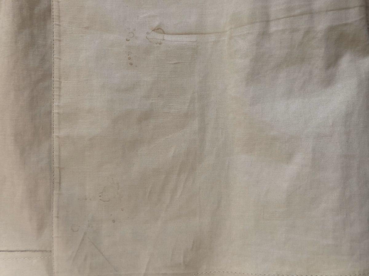 MACKINTOSH マッキントッシュ メンズ コート トレンチ ゴム引き 36 ベージュ_画像6
