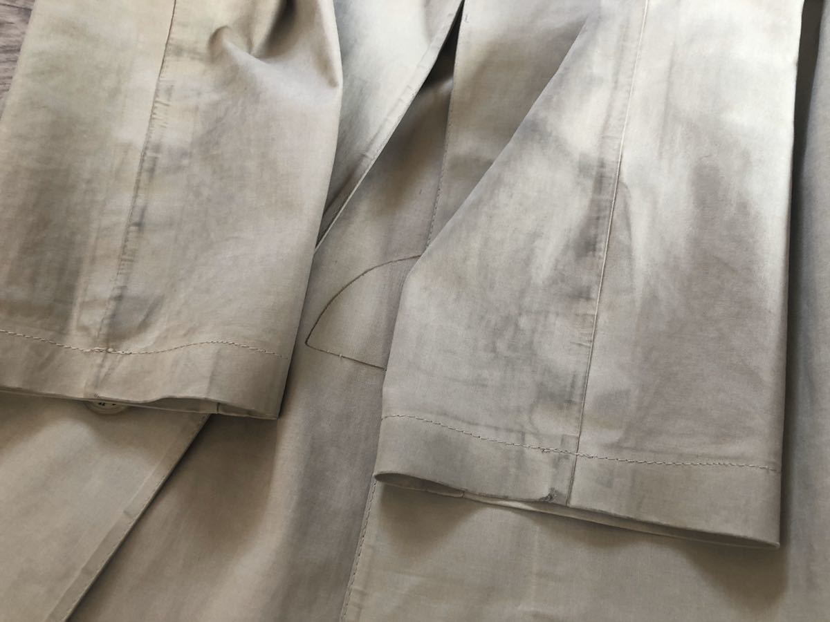 MACKINTOSH マッキントッシュ メンズ コート トレンチ ゴム引き 36 ベージュ_画像7