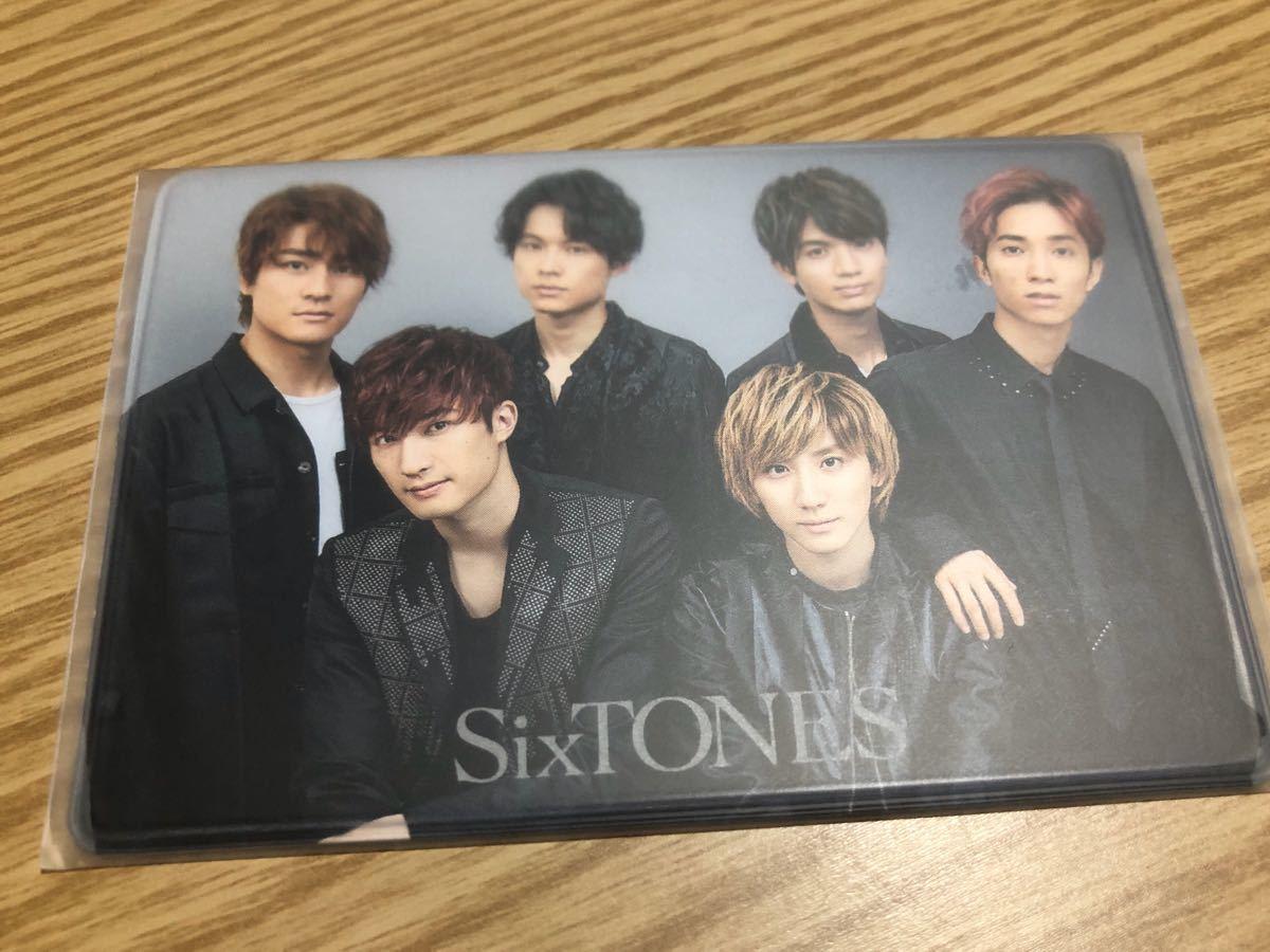 クラブ 会員 証 Sixtones ファン