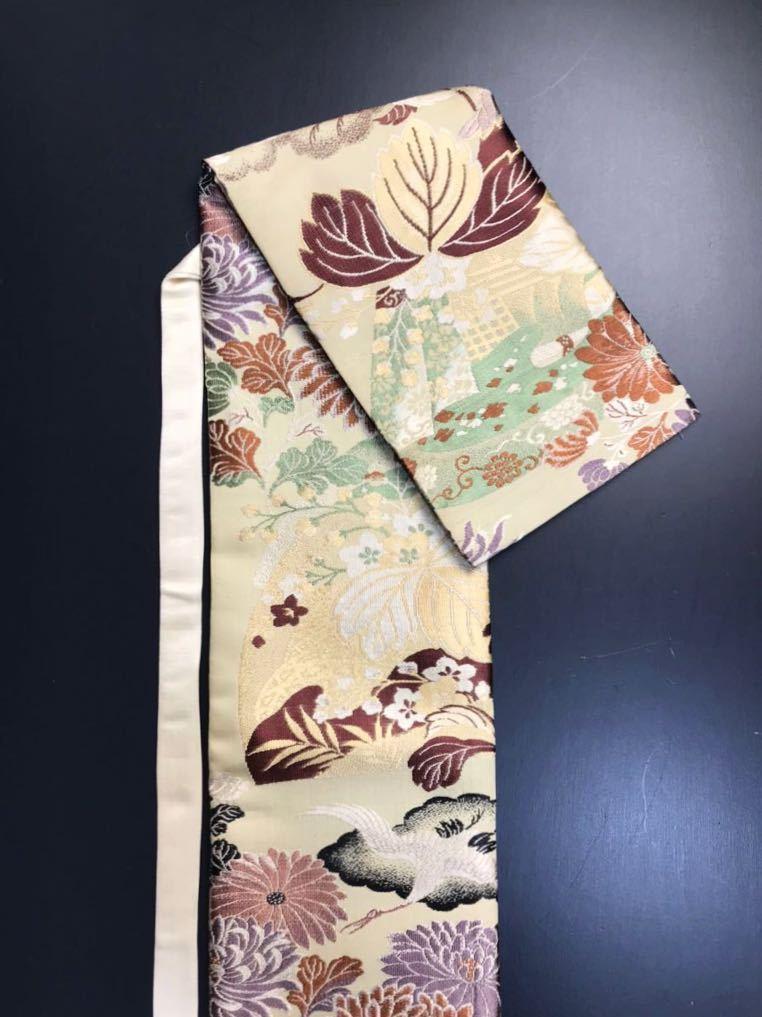 [kmB-3] 限定4本 日本刀 太刀 刀 刀袋 豪華 華紋 飛鶴紋 職人ハンドメイド 100%正絹使用 一点物 B-3_画像6