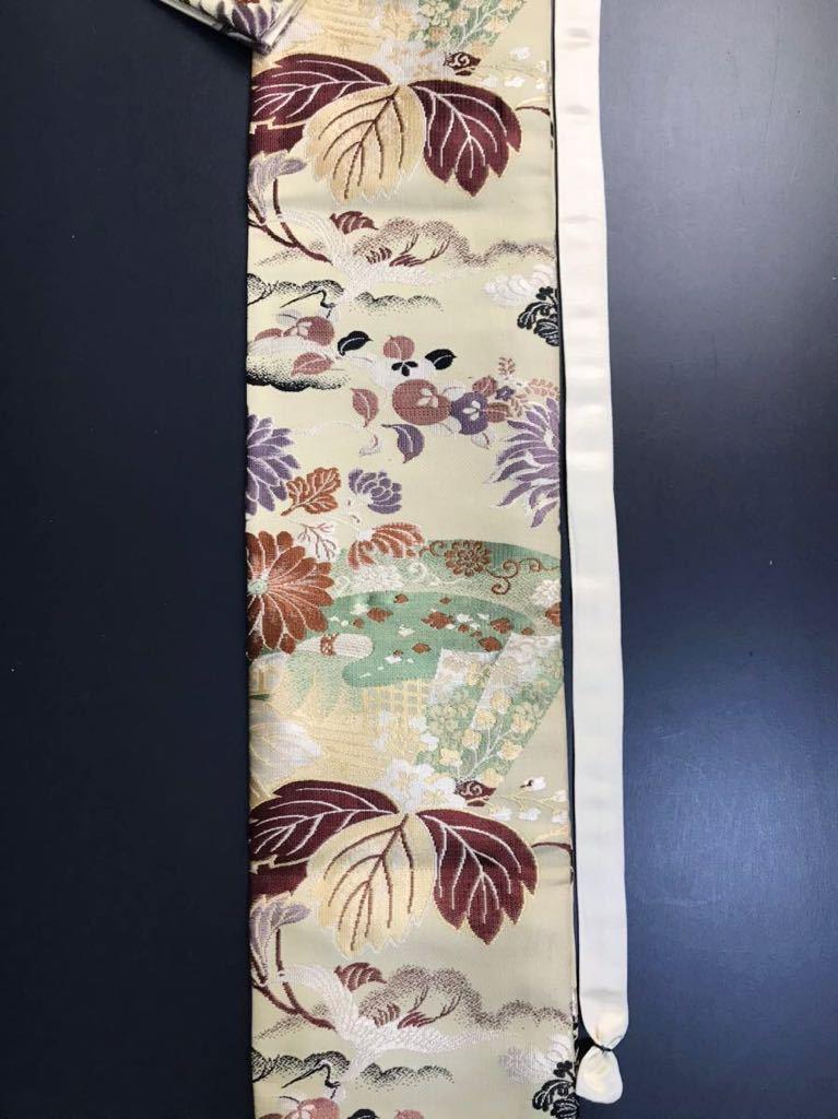 [kmB-3] 限定4本 日本刀 太刀 刀 刀袋 豪華 華紋 飛鶴紋 職人ハンドメイド 100%正絹使用 一点物 B-3_画像3