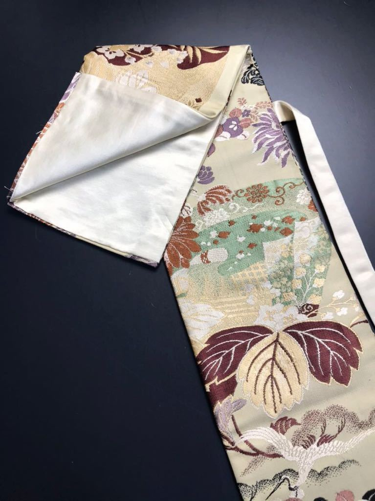 [kmB-3] 限定4本 日本刀 太刀 刀 刀袋 豪華 華紋 飛鶴紋 職人ハンドメイド 100%正絹使用 一点物 B-3_画像5