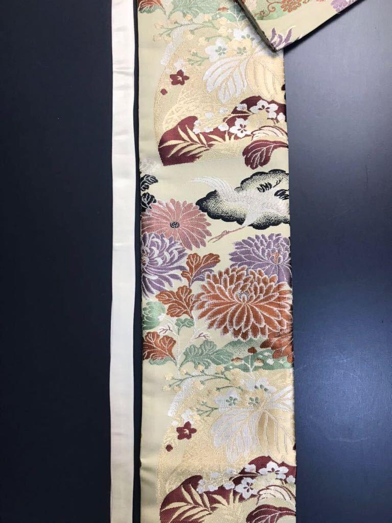 [kmB-3] 限定4本 日本刀 太刀 刀 刀袋 豪華 華紋 飛鶴紋 職人ハンドメイド 100%正絹使用 一点物 B-3_画像7