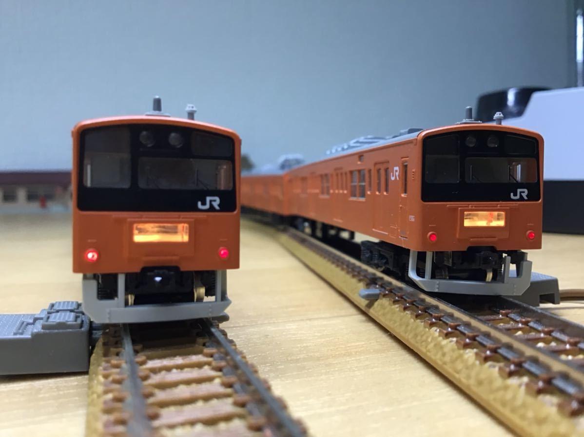 【智】関水金属 KATO 201系 直流通勤形電車(中央線色)6両基本セット 動作確認済み 自宅整理品 Nゲージ 鉄道模型 (No548)_画像8