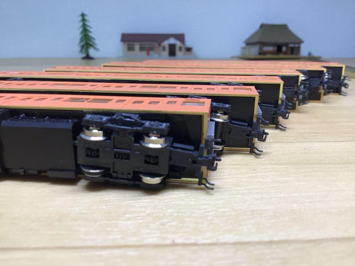 【智】関水金属 KATO 201系 直流通勤形電車(中央線色)6両基本セット 動作確認済み 自宅整理品 Nゲージ 鉄道模型 (No548)_画像10