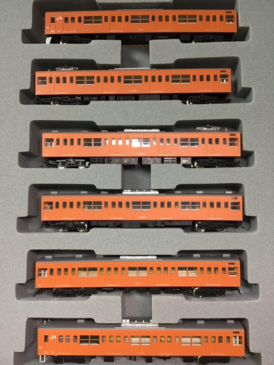 【智】関水金属 KATO 201系 直流通勤形電車(中央線色)6両基本セット 動作確認済み 自宅整理品 Nゲージ 鉄道模型 (No548)_画像2
