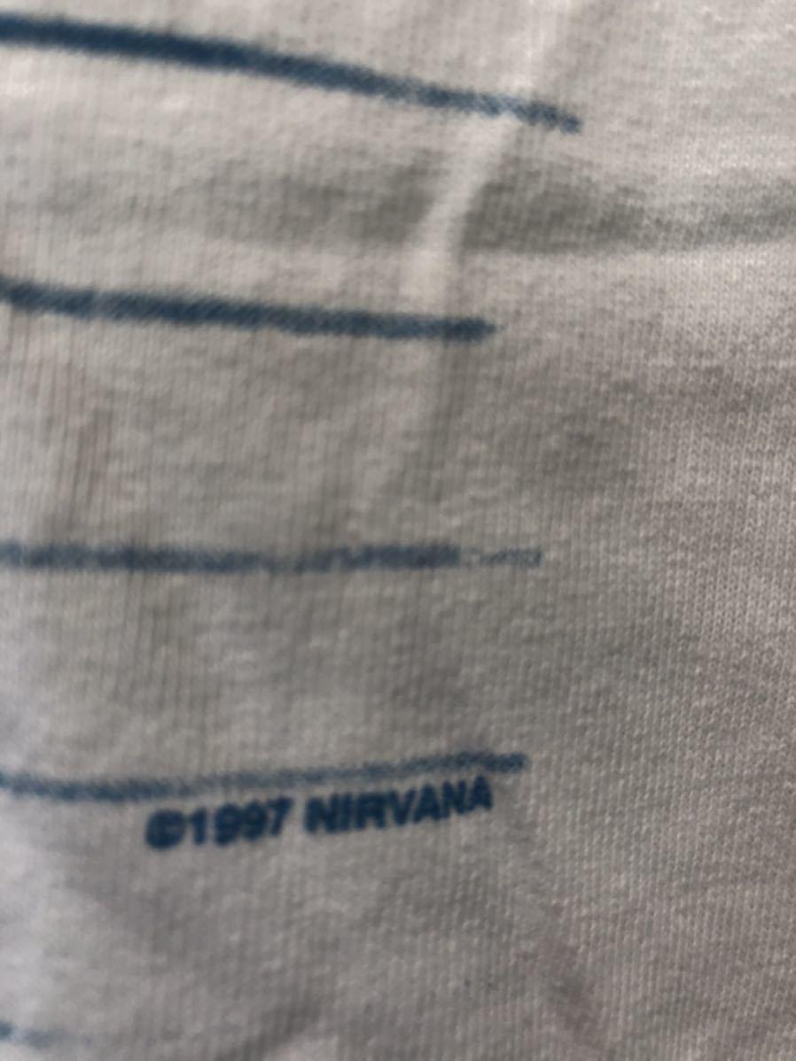 NIRVANA ニルヴァーナ Kurt Cobain カートコバーン ロックTシャツ 90's ヴィンテージ_画像3