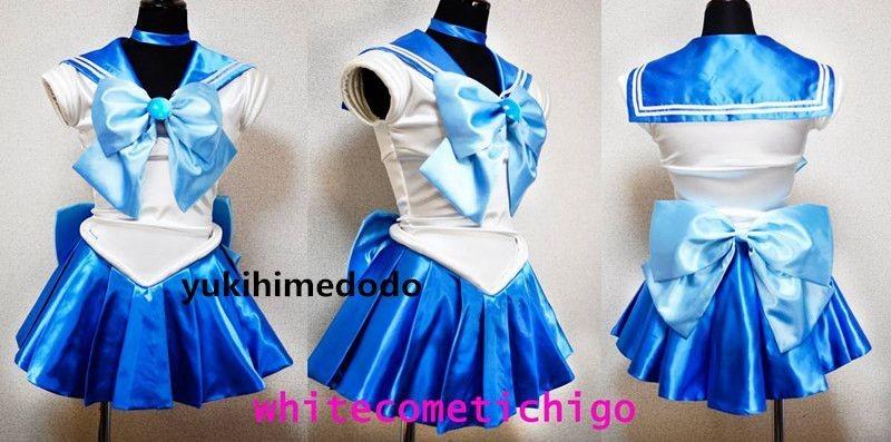 cos5345美少女戦士セーラームーン セーラーマーキュリー コスプレ衣装_画像1